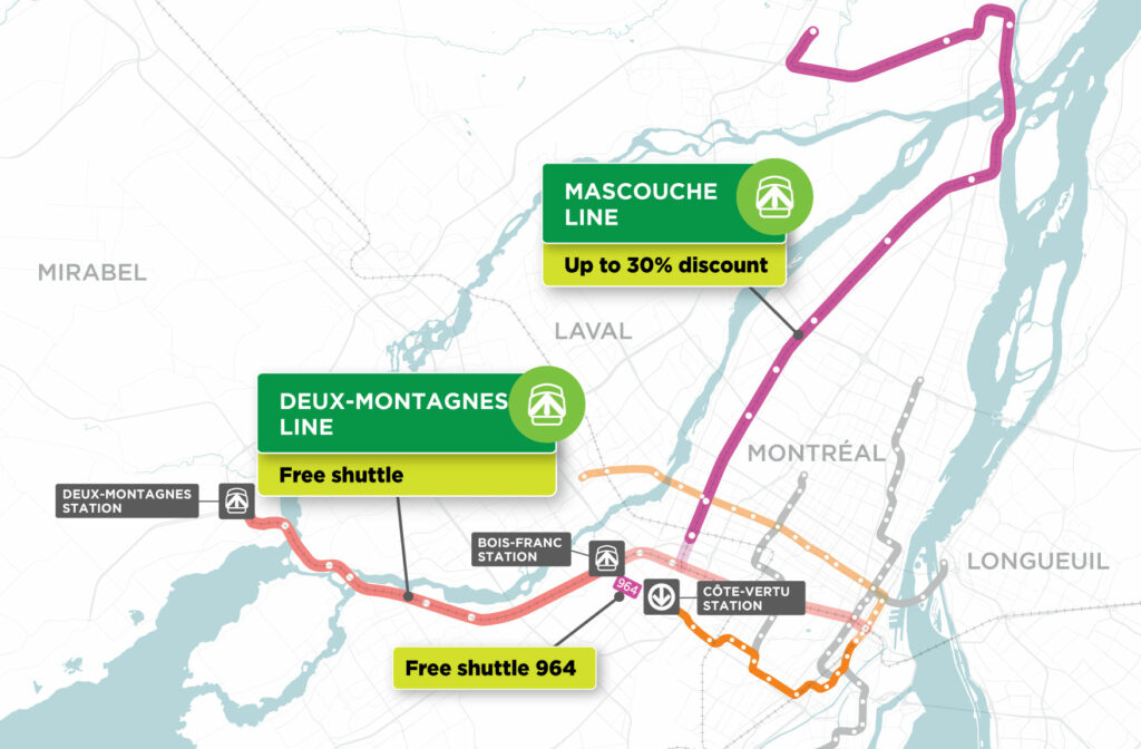 Mascouche train line 4