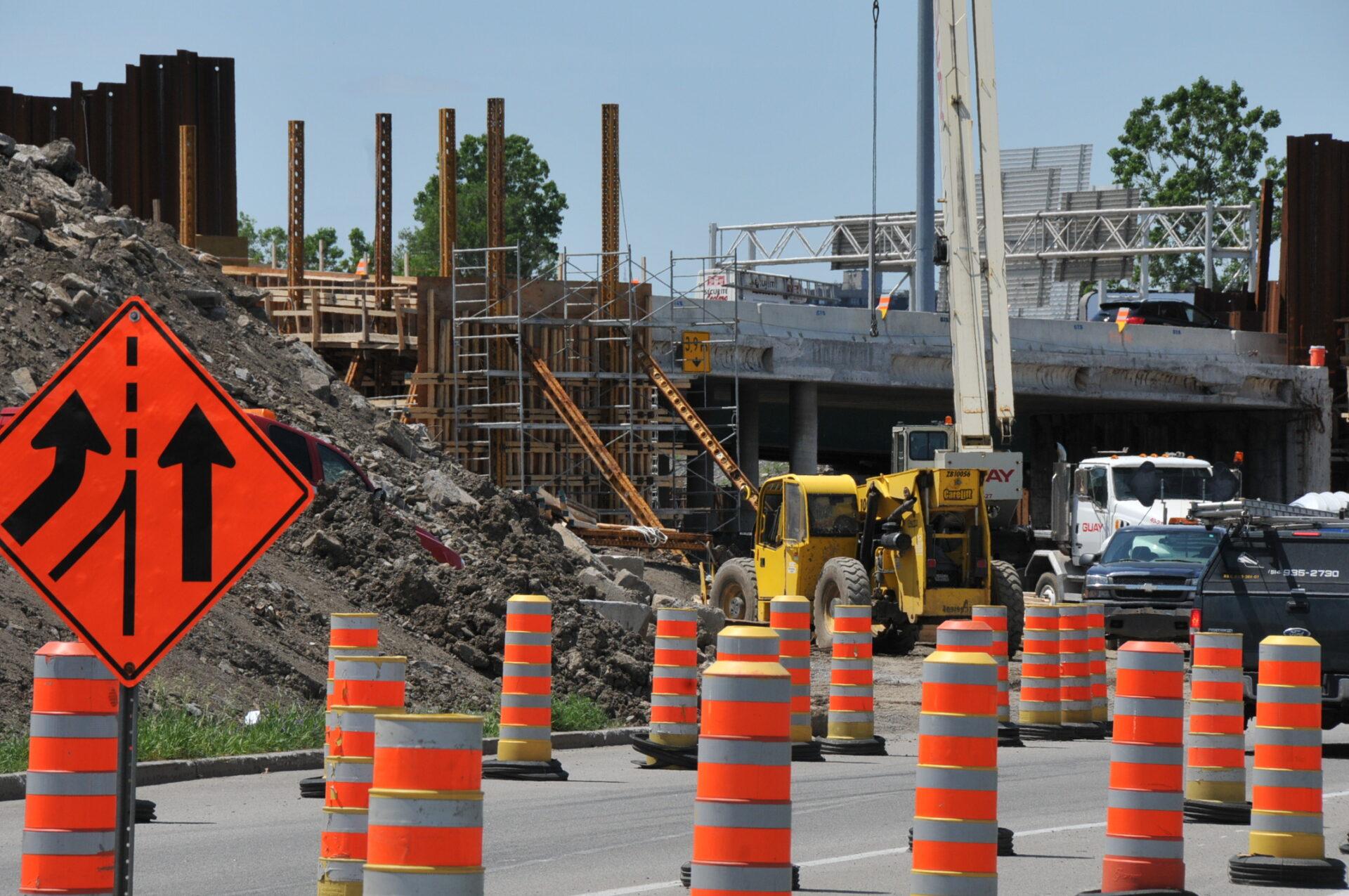 Summer 2020 major roadwork in the Montréal region